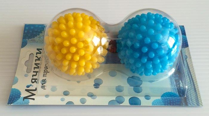 Специальные шарики для стирки
