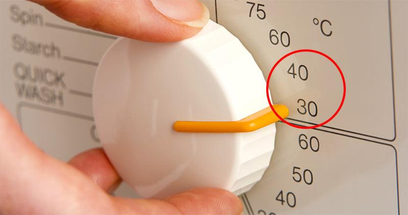 30 40 градусов на стиральной машинки