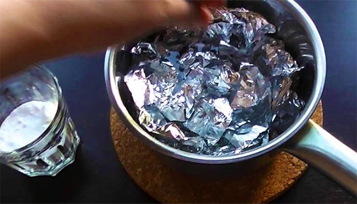 Серебро в кипяток