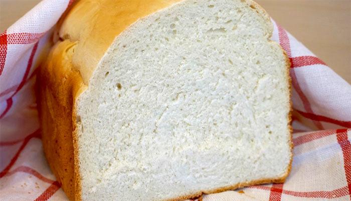 Чистим хлебом