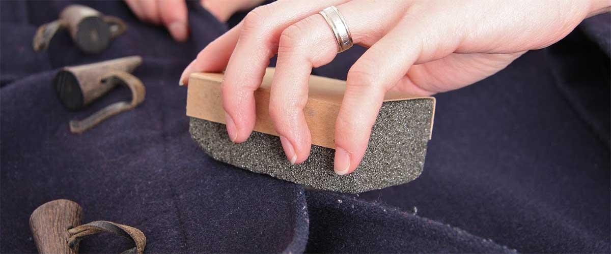 Как почистить драповое пальто в домашних условиях без стирки