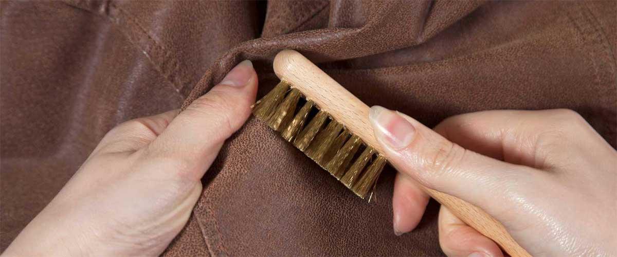 Как очистить дубленку от пятен