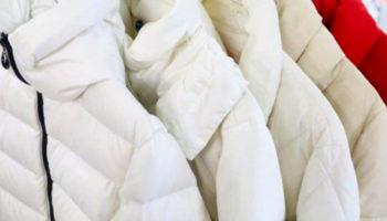 Как правильно стирать белый пуховик в домашних условиях