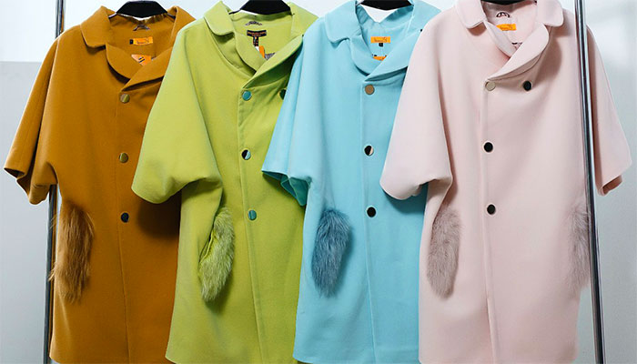 Кашемировые пальто разных цветов
