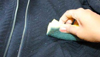 Катышки на пальто
