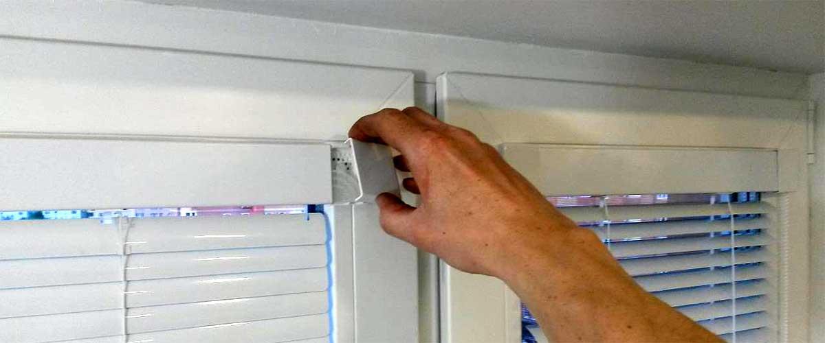 Как снять жалюзи с окна для стирки (или чтобы помыть)