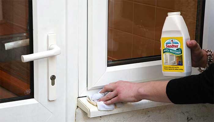 Средства для чистки желтых окон