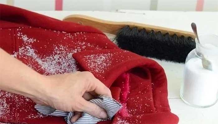 Выведение пятна с пальто