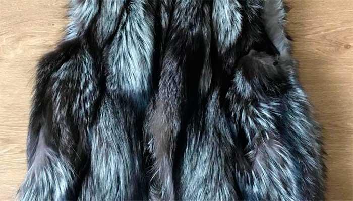 Чистка чернобурки