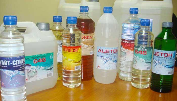 Удаление химическими веществами