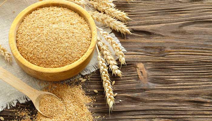 Отруби пшеничные для чистки шапки
