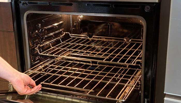 Подготовка духовки к очистке