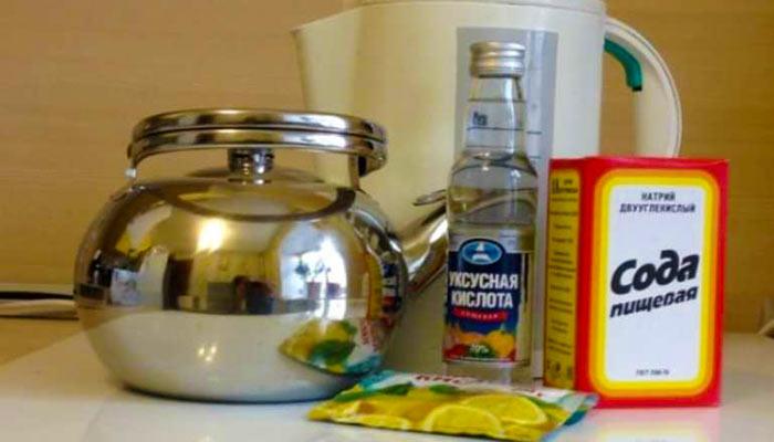 Сода лимонная кислота