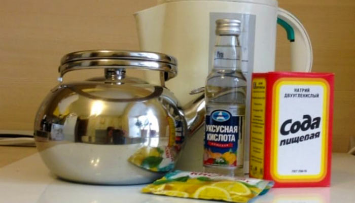 Сода уксус лимонная кислота