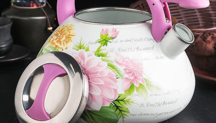 Эмалированный чайник чистка