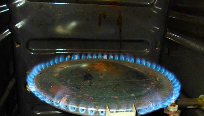 Чистка газовой духовки