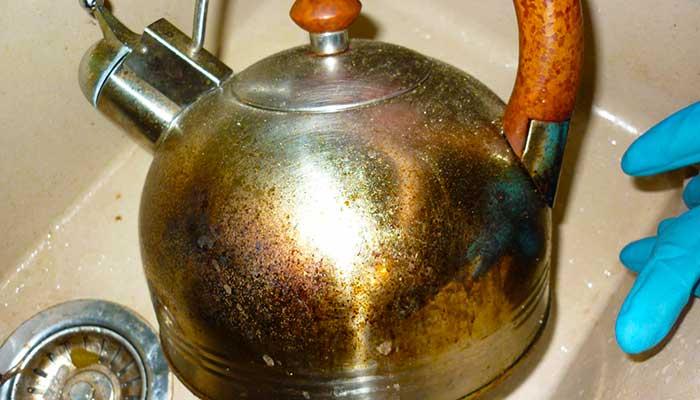 Нагар на чайнике чистка