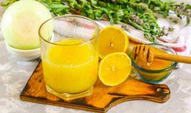 Луковый и лимонный сок