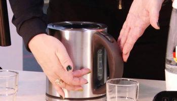 Как почистить электрический чайник от накипи правильно