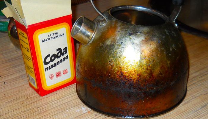Очистка пищевой содой