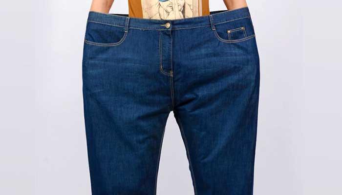 Уменьшение джинсов