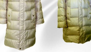 Чем вывести, отстирать жирное или масляное пятно с куртки