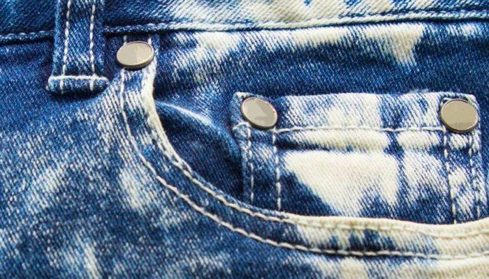 Отбеливание джинсов