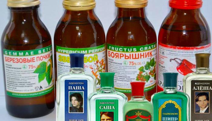 Спиртосодержащие жидкости