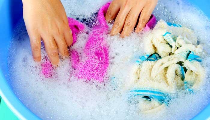 Замоченные полотенца