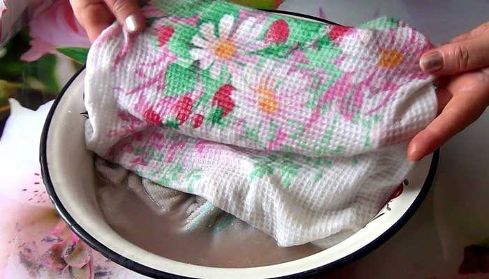 Кипячение полотенец